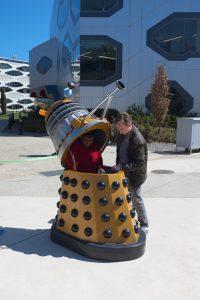 Skanda in a Dalek