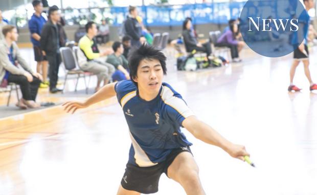 Anthony joe will represent Australia in Badminton