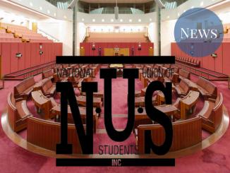Senate with NUS logo