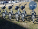 Bikes in the bike share