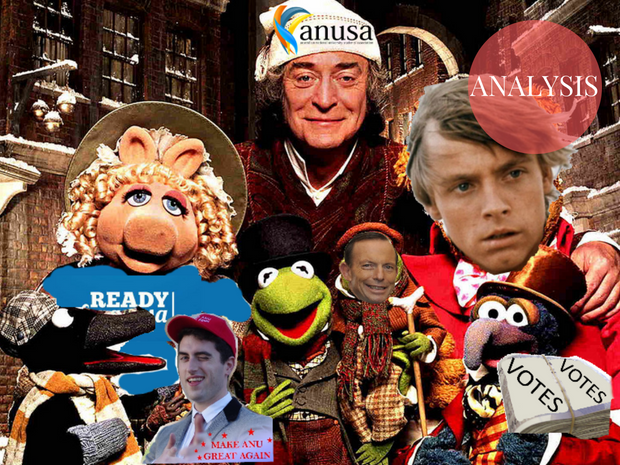 """""""A Muppets Christmas Carol"""" edited with relevant motifs"""