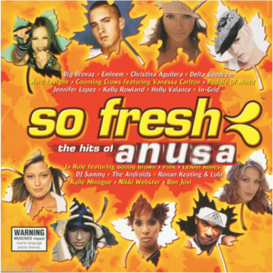 Meme from the So Fresh for ANUSA page featuring a photoshopped album cover.