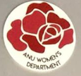 ANU Women's department logo