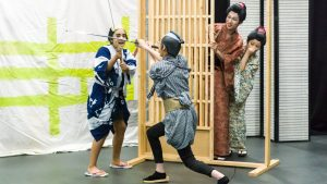 Za- Kabuki in dress rehersal