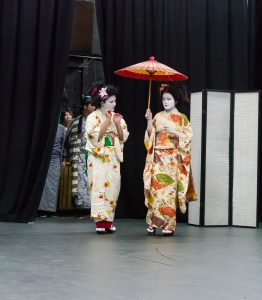 Za- Kabuki in dress rehersal
