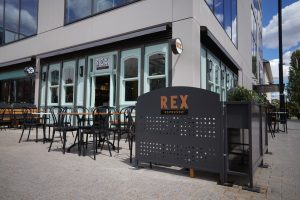 Outside Rex Espresso