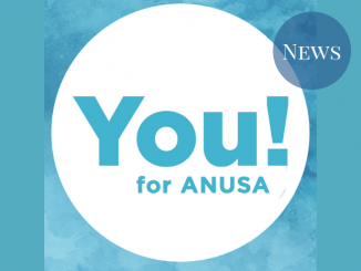 The logo of You! For ANUSA