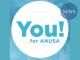 The logo of You! For ANUSA