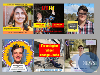 Thumbnails of each of the independent candidates